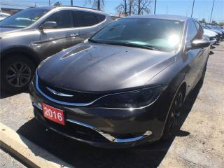 Used 2016 Chrysler 200 C**Leather**Navigation**Sunroof**Bluetooth** for sale in Mississauga, ON