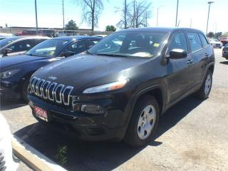 Used 2014 Jeep Cherokee Sport**4X4**Back UP CAM**Bluetooth**Remote Start** for sale in Mississauga, ON