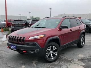 Used 2017 Jeep Cherokee Trailhawk**Sunroof**Navigation**Bluetooth** for sale in Mississauga, ON
