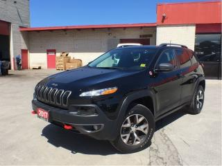 Used 2017 Jeep Cherokee Trailhawk**Blind Spot Monitoring**NAV**Back UP CAM for sale in Mississauga, ON