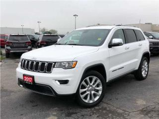 Used 2017 Jeep Grand Cherokee Limited**Leather**8.4 Touchscreen**Bluetooth** for sale in Mississauga, ON