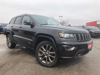 Used 2017 Jeep Grand Cherokee 75TH Anniversary**Sunroof**Leather**NAV** for sale in Mississauga, ON