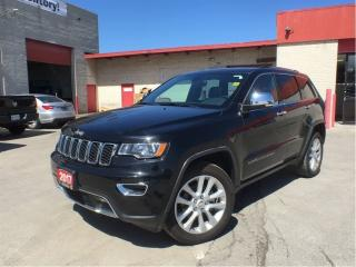 Used 2017 Jeep Grand Cherokee Limited**Leather**Sunroof**NAV**Bluetooth** for sale in Mississauga, ON