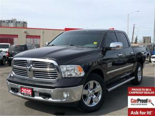 Used 2015 RAM 1500 SLT**BIG Horn**Sunroof**NAV**8.4 Screen** for sale in Mississauga, ON