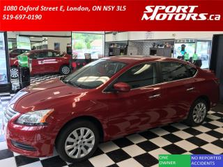 Used 2013 Nissan Sentra SV! New Brakes! Push Start+A/C+Cruise! Pure Drive for sale in London, ON