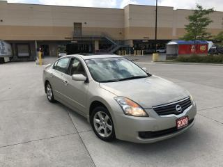 Used 2009 Nissan Altima Leather, Sunroof, 2.5Lit, 3/Ywarranty availa for sale in North York, ON