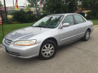 Used 2002 Honda Accord SE for sale in Mississauga, ON