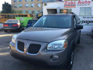 Used 2006 Pontiac Montana w/1SA Safety& E Test is Included The Price for sale in Scarborough, ON