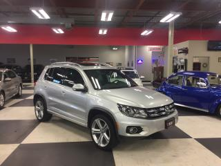 Used 2014 Volkswagen Tiguan 2.0TSI HIGHLINE AWD AUT0 NAVI LEATHER PANO/ROOF for sale in North York, ON
