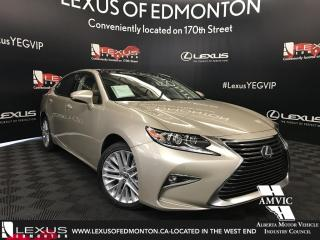 New 2018 Lexus ES 350 EXECUTIVE PACKAGE for sale in Edmonton, AB