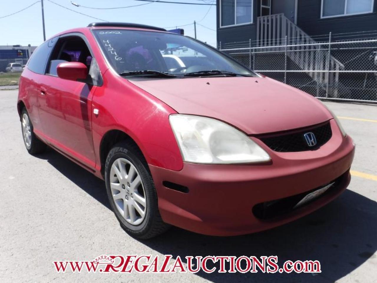 Photo of Red 2002 Honda CIVIC SI-R 2D HATCHBACK