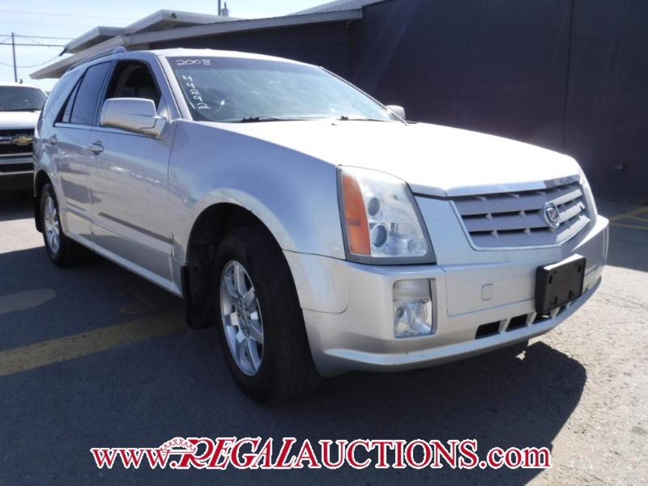 Photo of Silver 2008 Cadillac SRX  4D UTILITY V6 AWD