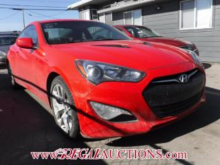 Used 2013 Hyundai GENESIS COUPE  2D COUPE AT for sale in Calgary, AB