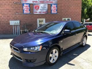 Used 2013 Mitsubishi Lancer SportONE OWNER/NO ACCIDENT/CERTIFIED/WARRANTY INCL for sale in Cambridge, ON