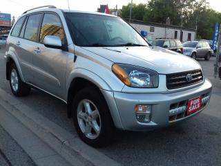 Used 2002 Toyota RAV4 172,463 / $4988 CERTIFIED for sale in Scarborough, ON