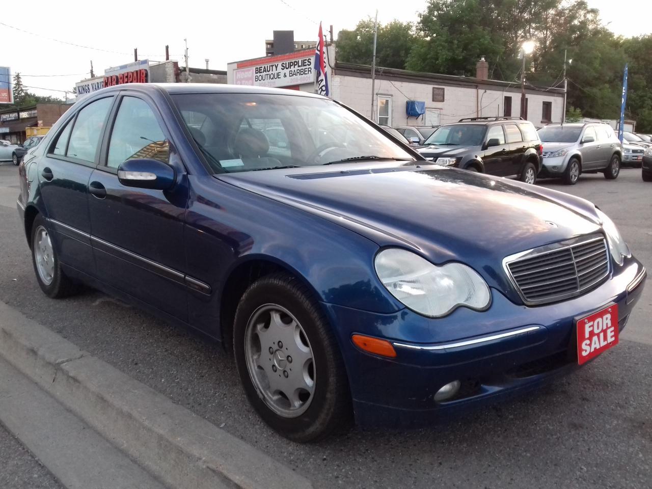 2003 Mercedes-Benz C240 2.6L Classic - Low KM 130,737 / $3995
