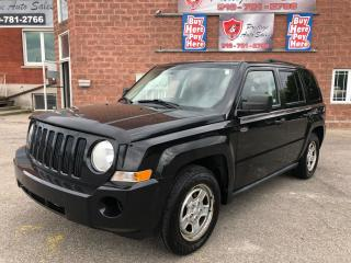 Used 2009 Jeep Patriot ONE OWNER/NO ACCIDENT/CERTIFIED/WARRANTY INCLUDED for sale in Cambridge, ON