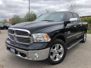 Used 2015 RAM 1500 SLT**BIG Horn**Diesel**Navigation**Crew CAB** for sale in Mississauga, ON