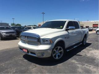 Used 2016 RAM 1500 Laramie**Crew CAB**Leather**Sunroof** for sale in Mississauga, ON