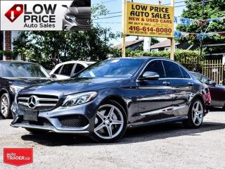 Used 2015 Mercedes-Benz C-Class AWD*AMGPkg*PanoRoof*Xenon*Navi*BlindSpot*MBWarr** for sale in York, ON