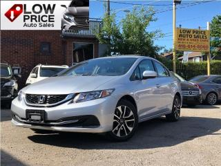 Used 2014 Honda Civic EX*Sunroof*PushStart*HtdSeats*Camera*Warranty* for sale in York, ON