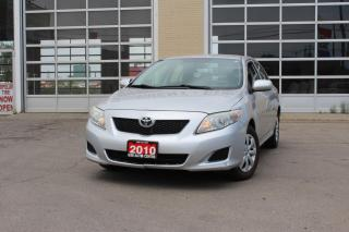 Used 2010 Toyota Corolla AUTOMATIC | CLEAN CARPROOF | GREAT FUEL CONSUMPTION | EVERYONE GETS FINANCED! for sale in Hamilton, ON