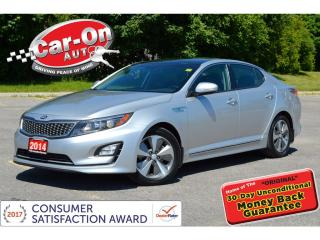 Used 2014 Kia Optima Hybrid EX HYBRID PANO ROOF REAR CAM HTD SEATS ALLOYS for sale in Ottawa, ON