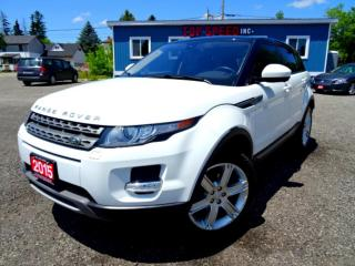 Used 2015 Land Rover Evoque Pure Premium/NAVI/PANORAMIC/WARRANTY/CERTIFIED for sale in Guelph, ON