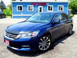 Used 2013 Honda Accord Sport CVT/REMOTE STARTER/BACK UP CAM/HEATED SEAT/CERTIFIED for sale in Guelph, ON