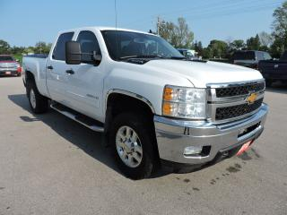 Used 2013 Chevrolet Silverado 2500 LT. Crew. 6.0L Gas. 4X4. 129,000 KM's for sale in Gorrie, ON