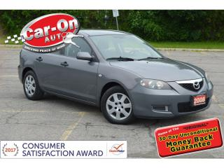 Used 2008 Mazda MAZDA3 AUTOMATIC A/C ONLY $54 BIWEEKLY o.a.c for sale in Ottawa, ON