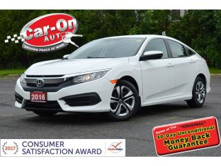 Used 2016 Honda Civic AUTO A/C REAR CAM NAV READY HTD SEATS LOADED for sale in Ottawa, ON