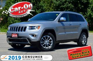 Used 2016 Jeep Grand Cherokee Limited 4X4 REAR CAM HTD SEATS FULL PWR GRP LOADED for sale in Ottawa, ON