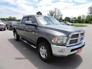 Used 2012 RAM 3500 Laramie. Diesel. 4X4. Leather. Navi. Loaded for sale in Gorrie, ON