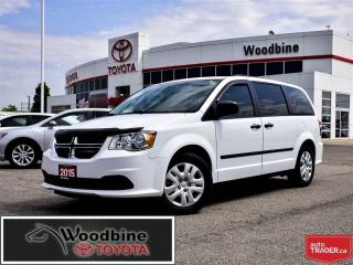 Used 2015 Dodge Grand Caravan CANADIAN VALUE PACKAGE for sale in Etobicoke, ON