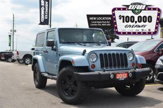 Used 2012 Jeep Wrangler Sahara - 4x4, dual tops, bluetooth, heated seats for sale in London, ON