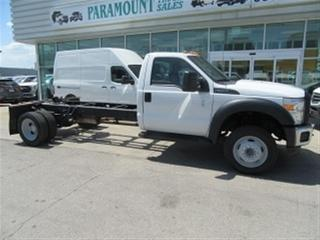 Used 2014 Ford F-550 2WD GAS CAB & CHASSIS 189 INCH WHEEL BASE for sale in Richmond Hill, ON