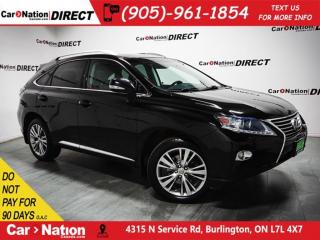 Used 2013 Lexus RX 350 | AWD| SUNROOF| NAVI| BACK UP CAMERA| for sale in Burlington, ON