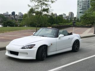 Used 2005 Honda S2000 6SP MANUAL,NO ACCIDENT,INPACTED IN FULL BY DEALER for sale in Vancouver, BC