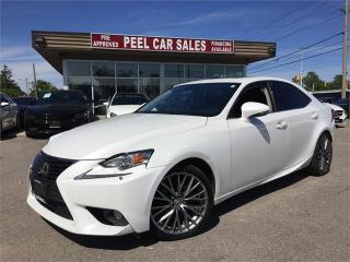 Used 2014 Lexus IS 250 IS250|SUNROOF|FSPORT|2.5L FUELEFFICIENT for sale in Mississauga, ON