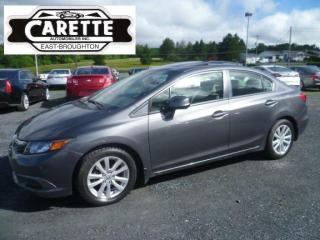 Used 2012 Honda Civic Ex-L Cuir-Toit-Gps for sale in East broughton, QC