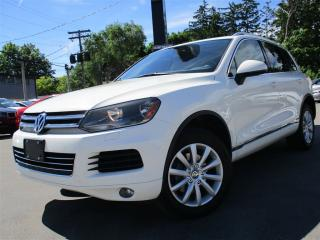 Used 2011 Volkswagen Touareg 3.6L ~ NAVIGATION ~ PANORAMA ROOF ~ 165KMS !!! for sale in Burlington, ON