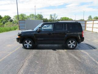 Used 2016 Jeep Patriot HIGH ALTITUDE 4X4 for sale in Cayuga, ON