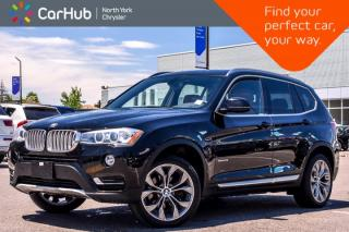 Used 2015 BMW X3 xDrive28i|Premium Pkg|Pano_Sunroof|Heat Frnt.Seats|Keyless_Go for sale in Thornhill, ON
