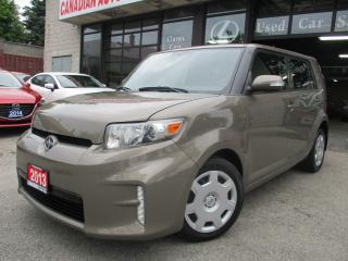 Used 2013 Scion xB BLUTOOTH-ONE OWNER-LOW KM-REMOTE STARTER for sale in Scarborough, ON