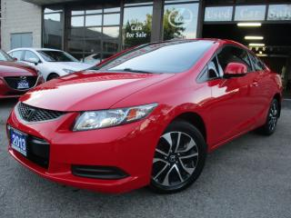 Used 2013 Honda Civic EX-CAMERA-ROOF-BLUETOOTH-HEATED SEAT-ALLOYS for sale in Scarborough, ON