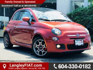 Used 2013 Fiat 500 Sport NO ACCIDENTS, B.C OWNED for sale in Surrey, BC