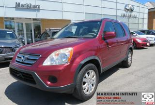 Used 2005 Honda CR-V EX-L ASIS Super Saver for sale in Unionville, ON