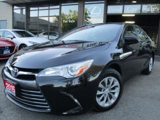 Used 2015 Toyota Camry LE-BACK UP CAMERA-BLUETOOTH for sale in Scarborough, ON