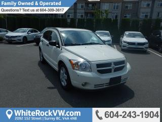 Used 2008 Dodge Caliber SXT Remote Keyless Entry, Radio Data System & A/C for sale in Surrey, BC